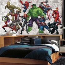 Mural Heróis Vingadores XL JL1433M - Marvel