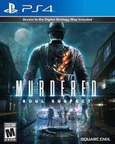 Murdered Soul Suspect Ps4 Midia Fisica -
