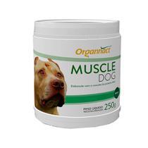 Muscle Dog 250g Organnact Suplemento Cães -
