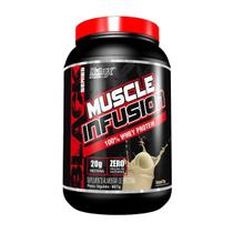 MUSCLE INFUSION 100% WHEY PROTEIN (2lb) - Baunilha - Nutrex Research -