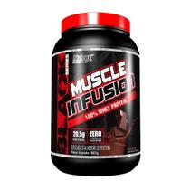 MUSCLE INFUSION 100% WHEY PROTEIN (2lb) - Chocolate - Nutrex Research -