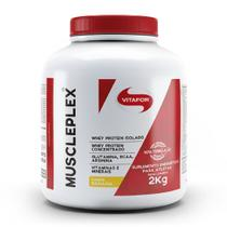Muscleplex 2kg Banana Vitafor -