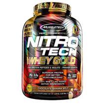 Muscletech nitro tech whey gold banana split 2,5kg -