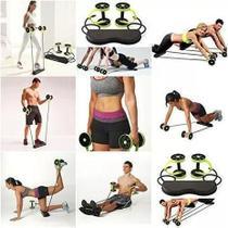 Musculação Fitness Completo Academia Em Casa Roda elastico exercicio Revoflex Xtreme Exercise -