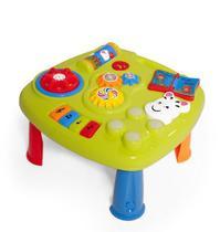 Music Table Centro Mesa de Atividades com Som Calesita Cor: Variada -