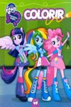 My Little Pony - Equestria Girls - Colorir - Vale das letras