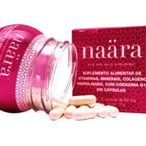 Naara Colageno- Capsulas Hair And Nails - Com Q-10 E Biotina - Jeunesse