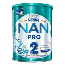 NAN Pro 2 Fórmula Infantil de Seguimento para Lactentes e Crianças a Partir do 6º Mês com 800g -