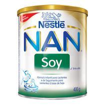 NAN Soy Fórmula Infantil para Lactentes e de Seguimento para Lactentes à Base de Soja com 400g -
