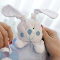 Naninha Poá Azul com Sapatinho - Mais que baby