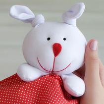 Naninha Poá Vermelho e Branco com Sapatinho - Mais que baby