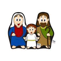 Naninha Travesseirinho Boneco Sagrada Família - Amiguinhos Do Céu
