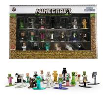 Nano Figure Minecraft DTC 20 Miniaturas Metal Die Cast -