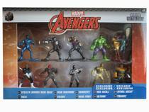 Nano Metalfigs Avengers Marvel Dtc - 10 Figuras colecionáveis -