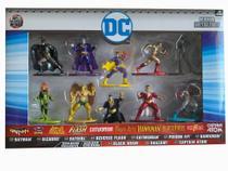 Nano Metalfigs DC Comics Dtc - 10 Figuras colecionáveis -