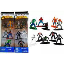 Nano Metalfigs Homem Aranha Venom 10 Miniaturas Em Metal - Jada Toys