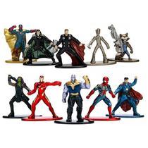 Nano Metalfigs Vingadores Guerra Infinita Infinity War - Jada Toys