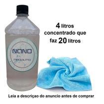 Nano Produto Limpa Tecido, Couro, Plásticos 20 Litros -