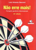 NAO ERRE MAIS! -PORTUGUES AGRADAVEL E DESCOMPLICADO - 28ª ED - Harbra - paradidatico/univ/int geral/direito