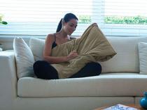 Nap 3 em 1 Edredom, Cobertor e Almofada Solteiro - Mehndi