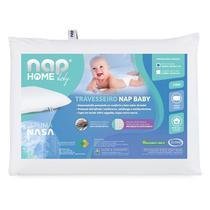 Nap Travesseiro Nap Baby RN Infantil Hipoalergenico Espuma Nasa Recem Nascido TRINR01 -