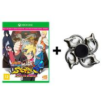 Naruto Shippuden Ultimate Ninja Storm 4 Road To Boruto - Xbox One + Hand Spinner - Cyberconnect2