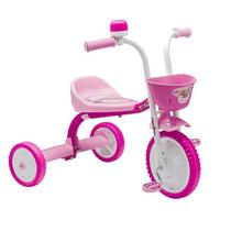 Nathor Triciclo You 3 Girl Infantil Velotrol em Aluminio Motoca Menina Rosa -