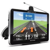 Navegador Gps Automotivo 7 Tv Digital Tracker Multilaser Lcd GP038 -