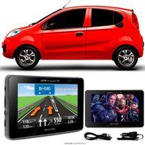 Navegador Gps Automotivo CHERY Q NEW HATCH Tela 4,3 Touch Voz C/ TV FM Oferta - Multilaser