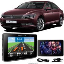 Navegador Gps Automotivo VW PASSAT Tela 4,3 Touch Voz C/ TV FM Oferta - Multilaser