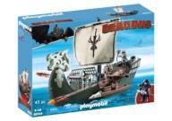 Navio de Caca aos Dragoes Playmobil Como Treinar Seu Dragão  9244 -