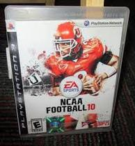 NCAA Football 10 - PS3 - Easports