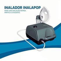 Nebulizador compressor Omron InalaPop cinza 110V/220V -