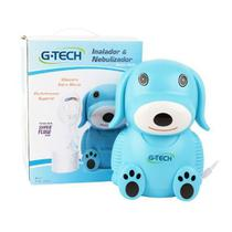 Nebulizador Infantil NebDog - G Tech-Azul - Accumed