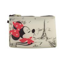 Necessaire Da Minnie Em Silicone  Oficial Disney - Drina