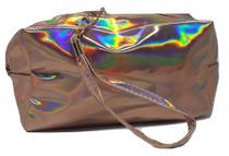 Necessaire holográfica rosé gold - China