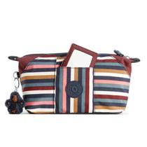 Necessaire Kipling Art Pouch Multi Stripes Bl-Unico 2,8L 1600663F -