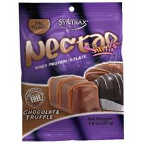 Nectar Sweets Whey Protein Isolate Chocolate Truffle sachê de 27g Syntrax