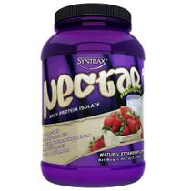 Nectar Whey Protein Isolate Natural Strawberry Cream 2lbs (907g) Syntrax