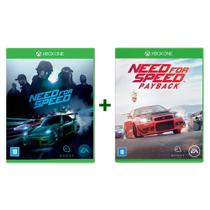 Need For Speed + Need For Speed Payback - Xbox One - Ea Games