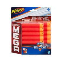 Nerf N-strike Mega Dardos Refil com 10 Unidades Hasbro HAS-669 -