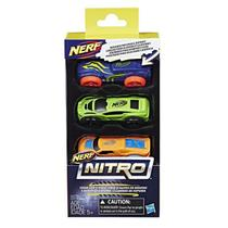Nerf Nitro - Refil de Carros Espuma - Hasbro