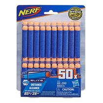 Nerf refil dardos elite 50 dardos - hasbro e6104 -
