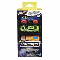 Nerf Refil Nitro Carros C/3 - C0774/c0775 - Hasbro