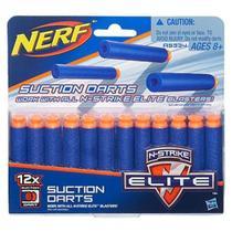Nerf refil sucção com 12 dardos a5334 - Hasbro