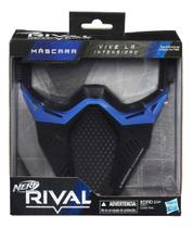 Nerf Rival Mascara de Proteção Azul Hasbro B1590 -