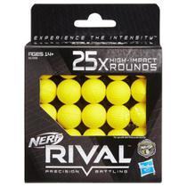 Nerf Rival Refil 25 Projéteis De Alto Impacto - Hasbro B1589 -