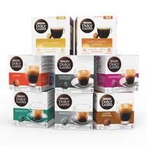 Nescafé Dolce Gusto Kit de Cafés - 128 cápsulas -