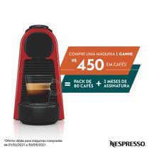 Nespresso Essenza Mini Vermelha, Cafeteira - 110V  D30 -