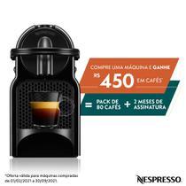 Nespresso Inissia Preta 220V - D40 -